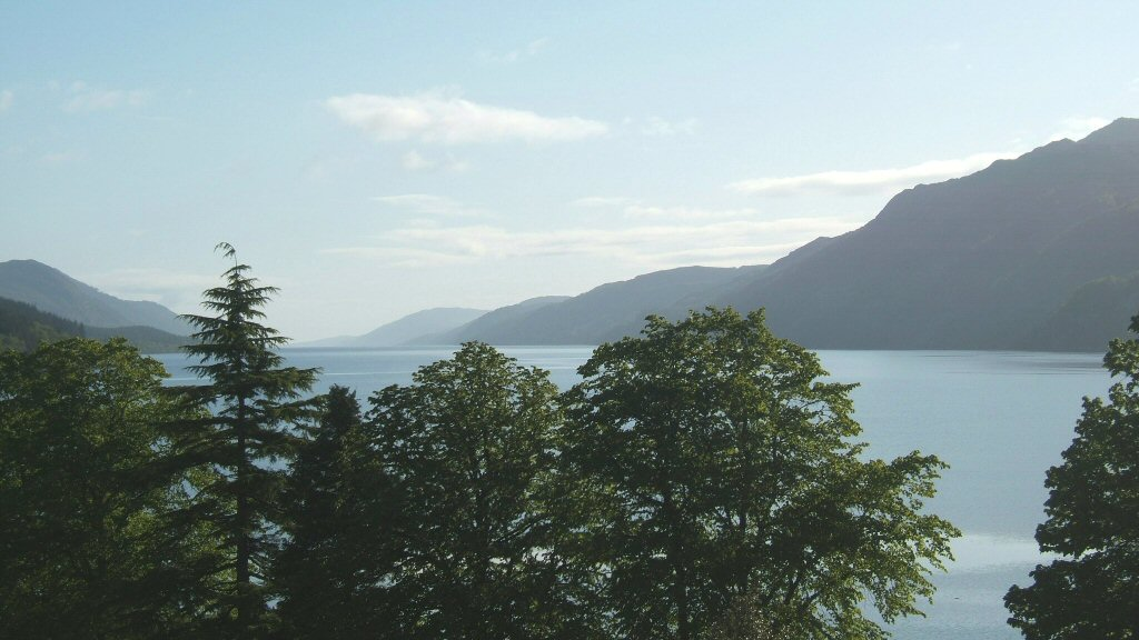 View of Loch Ness from Gruinyards